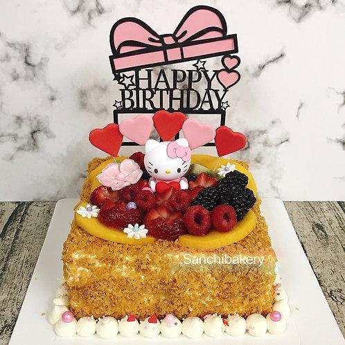 Hello Kitty拿破侖蛋糕