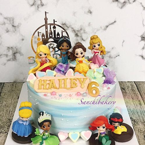 公主蛋糕(7吋)