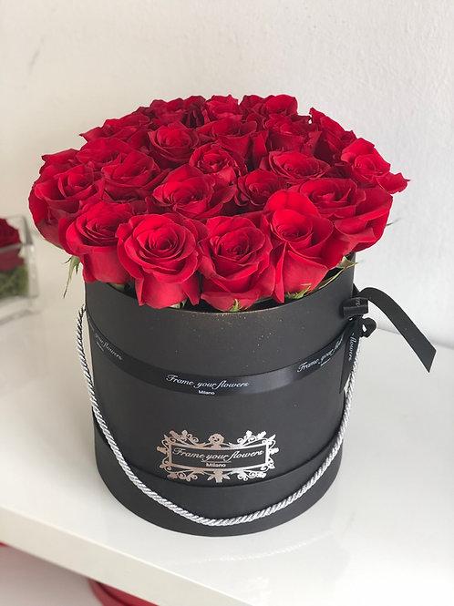 Box di Rose Eterne - scegli il colore