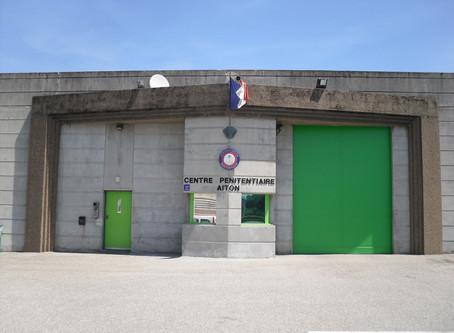 Prison d'Aiton : Le personnel en DANGER !