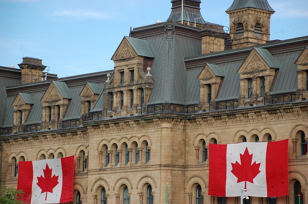 Ottawa parliamentary building