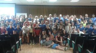 Cerca de cien estudiantes de Ciencias del Deporte asistieron al encuentro con el COLEF Andalucía
