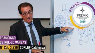 El Consejo COLEF reconoce la trayectoria profesional de Francesc Seirul·lo otorgándole el galardón d