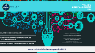 El COLEF Andalucía convoca sus Premios 2020