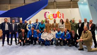 El deporte de Ceuta, muy presente en la Feria Internacional de Turismo