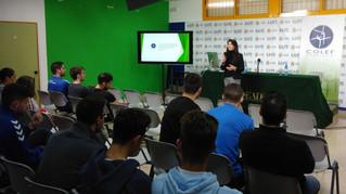 El COLEF Andalucía visita a los alumnos de EADE.