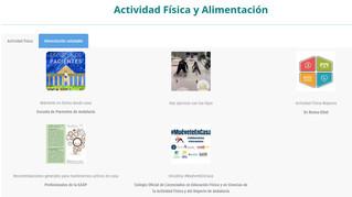 La Escuela Andaluza de Salud Pública incluye en su web la campaña #MuéveteEnCasa
