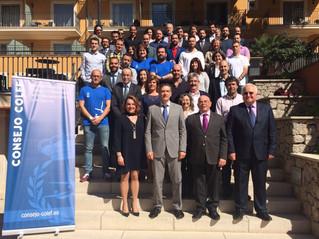 El COLEF Andalucía, en el 85º Pleno del Consejo COLEF