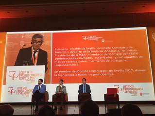 La vicepresidenta del COLEF Andalucía, en el ISSP 14th World  Congress Sevilla 2017