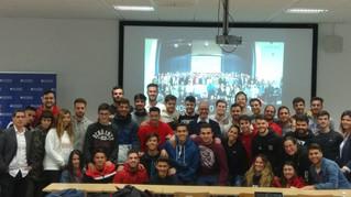 Serrano defiende en el C.U. San Isidoro el empoderamiento de los estudiantes en el proceso de profes