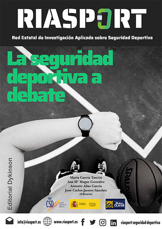 Publicado el primer libro sobre seguridad deportiva de la Red RIASPORT, coordinado por la colegiada