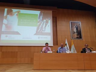 Alejandro Serrano presentó la jornada 'Retos del entrenamiento para la salud y el rendimiento'