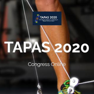 Tarifa especial para colegiados/as y precolegiados/as en el congreso internacional online TAPAS 2020
