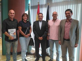 COLEF Andalucía y Consejería de Educación acuerdan estudiar la viabilidad de la implantación de las