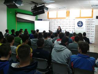 Estudiantes y profesionales conocen la Ley del Deporte a través del COLEF Andalucía