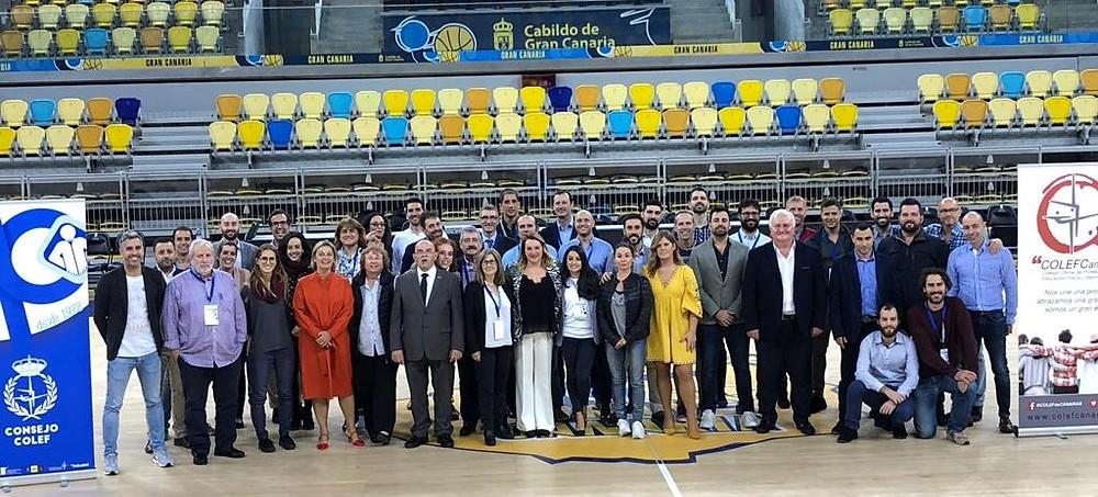 Foto de familia 88º pleno Consejo COLEF