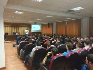 El COLEF Andalucía visita a los estudiantes de la Universidad de Almería