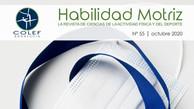 Ya disponible el nº 55 de Habilidad Motriz, la revista científica del COLEF Andalucía