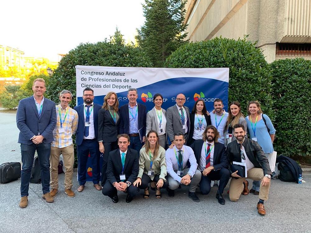 Miembros de la organización y ponentes