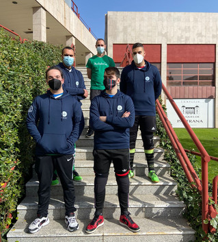 El equipo masculino de Goalball Sevilla, subcampeón del primer torneo post pandemia (Trofeo FEDEC)