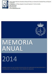 COLEF Andalcía Memoria 2014
