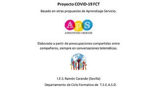 Proyecto COVID-19 FCT del IES Ramón Carande de Sevilla