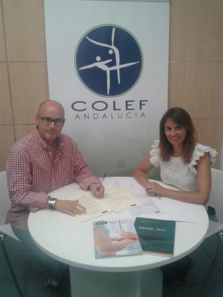 El COLEF Andalucía firma un convenio de colaboración con PSN