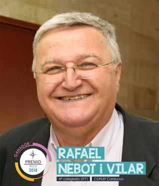 Rafael Nebot i Vilar, ganador de los Premios del Consejo COLEF 2018