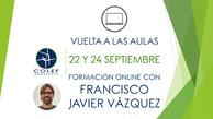 """22 y 24 septiembre: Formación online """"Vuelta a las aulas"""""""