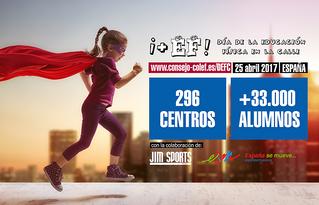 Andalucía, en el podio de participación del DEFC 2017