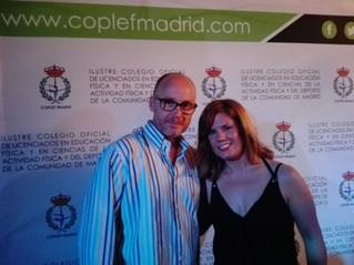 El COLEF Andalucía, presente en la I Gala Prodeporte organizada por el COPLEF de Madrid