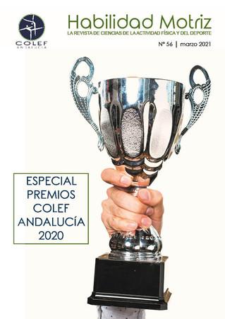 """Ya disponible el nº 56 de """"Habilidad Motriz"""", la revista científica del COLEF Andalucía"""