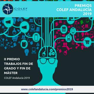 Publicado el fallo del II Premio Trabajos Fin de Grado y Fin de Máster COLEF Andalucía 2019