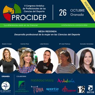 Las mujeres protagonizan el segundo congreso andaluz de las Ciencias del Deporte