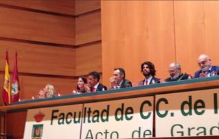 El COLEF Andalucía, presente en el Acto de Graduación de la UCA