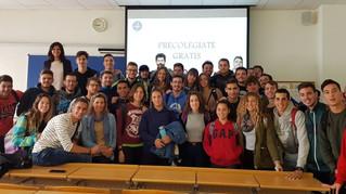 El COLEF Andalucía, visita a los estudiantes de CCAFD de la UCA