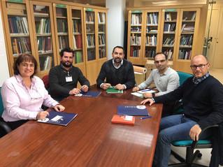 El COLEF Andalucía se reúne con el Secretario General para el Deporte