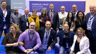 Reunión telemática de presidencias de los COLEF ante la crisis del COVID-19