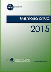 COLEF Andalucía Memoria 2015