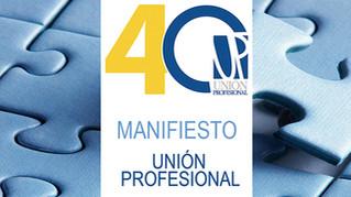 Manifiesto de las profesiones colegiadas en el marco de la crisis del COVID-19