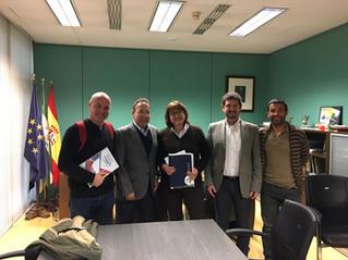 El COLEF Andalucía se reúne con la Consejería de Educación