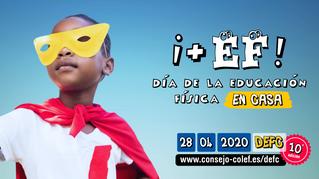 Andalucía bate su récord en el Día de la Educación Física en Casa con la participación de 104 centro