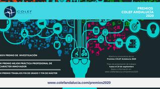 Estos son los Premios COLEF Andalucía 2020