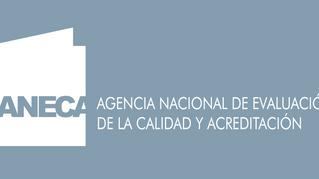 Desde la ANECA se valora positivamente la existencia de un aval de la organización colegial en la pr