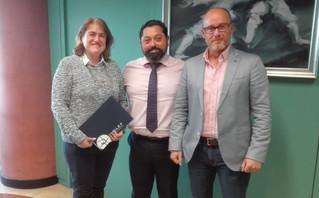 El COLEF Andalucía se reúne con el nuevo Secretario General para el Deporte.