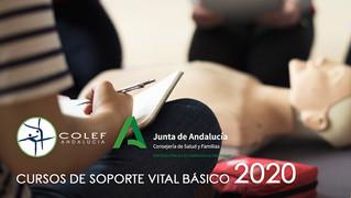 Abierta inscripción para Cursos de Soporte Vital Básico EPES - COLEF Andalucía 2020