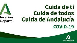 Pautas de trabajo docente en centros públicos de Andalucía durante estado de alarma