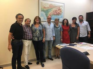 El COLEF Andalucía acuerda con la Consejería de Salud su implicación en varios proyectos.