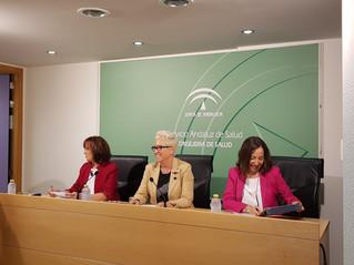 El COLEF Andalucía se reúne con la Secretaria General de Salud Pública y Consumo