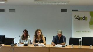 De Nova, se compromete a desarrollar el Decreto sobre la regulación profesional a partir de octubre.